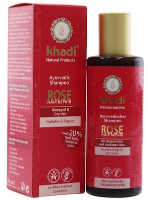 Khadi Rose Shampoo review pasagera