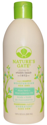 Nature's Gate Shampoo Aloe Vera Macadamia Oil review pasagera