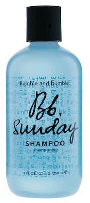 bumble and bumble sunday shampoo review pasagera